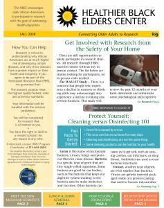 HBEC Fall 2020 Newsletter