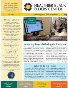 HBEC Fall 2021 newsletter